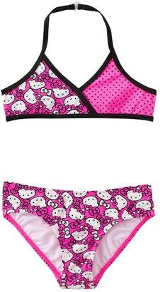Hello Kitty Girls' Forever Pink Halter Bikini Set (4yrs6X) - 8129628 $27 thestylecure.com