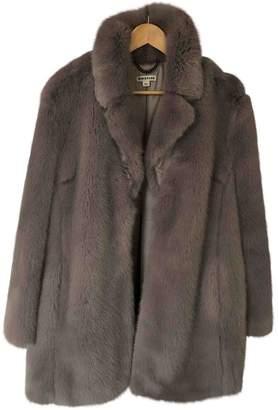 Whistles Purple Faux fur Coat for Women