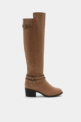 Ardene Faux Leather Over-the-Knee Boots
