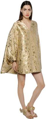 Gianluca Capannolo Lurex Brocade Balloon Dress