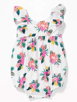Old Navy Flutter-Sleeve Bubble One-Piece for Baby