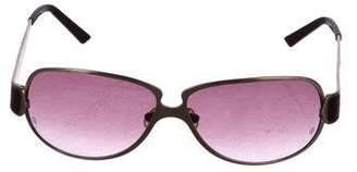 Cartier Alligator Gradient Sunglasses