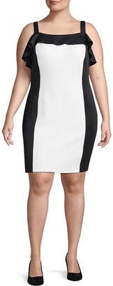 PROJECT RUNWAY Best of Project Runway All Stars Sleeveless Bodycon Dress - Plus
