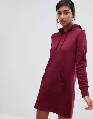 Brave Soul sweatshirt dress with hood