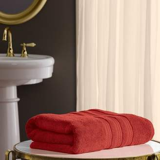 """+Hotel by K-bros&Co Member's Mark Hotel Premier Collection 100% Cotton Luxury Bath Towel, 30"""" x 58"""", Coral"""