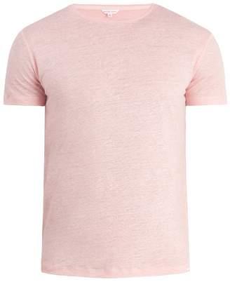Orlebar Brown Crew-neck linen-jersey T-shirt