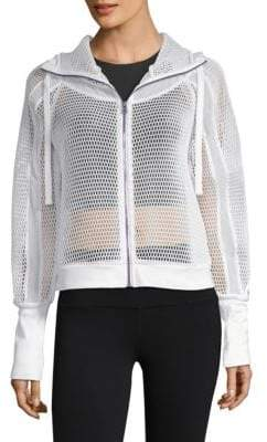 Alo Yoga Fortuna Mesh Hooded Jacket