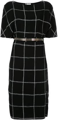 Lanvin boat neck dress