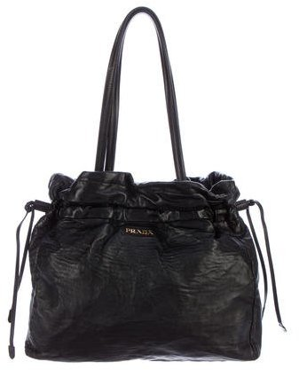 prada Prada Nappa Antique Shoulder Bag