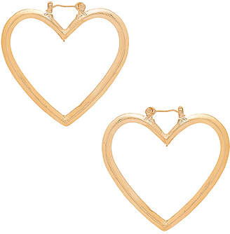 Shashi Heart Earrings