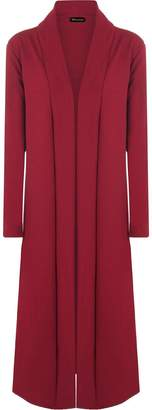 Roland Mouret Fashions Ladies Women Crepe Long Sleeve Open Waterfall Drape Cardigan Coat Top Jacket