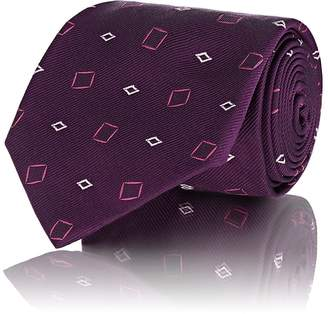 Fairfax Men's Geometric-Pattern Silk Necktie