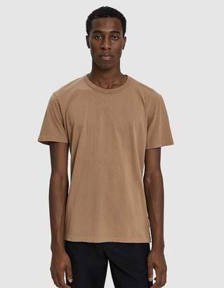 Our Legacy S/S Perfect T-Shirt in Camel Army Jersey