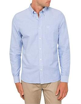 Fred Perry Classic Oxford Long Sleeve Casual Shirt