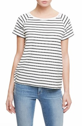 Women's Sanctuary Leelee Back Gusset Stripe Knit Top $69 thestylecure.com