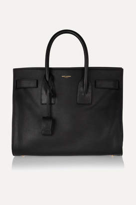 Saint Laurent Sac De Jour Small Leather Tote - Black