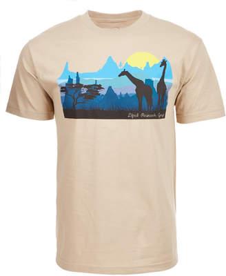 Lrg Men's Astro Sunset Graphic-Print T-Shirt