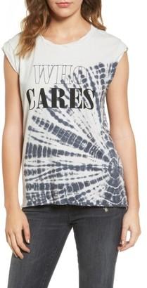 Women's Pam & Gela Frankie - Who Cares Tie Dye Tee $115 thestylecure.com