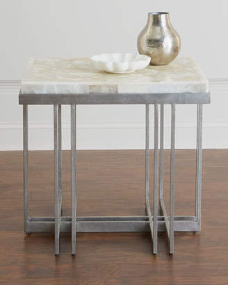 Hooker Furniture Thiago Onyx-Top Side Table