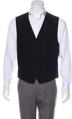 John Varvatos Corduroy Suit Vest