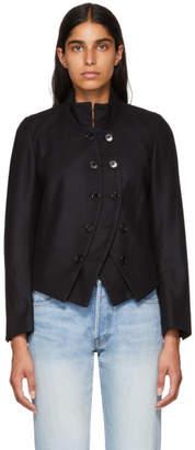 Ann Demeulemeester Black Dexter Blazer Jacket