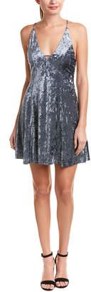 Do & Be DO+BE Do+Be Velvet Mini Dress