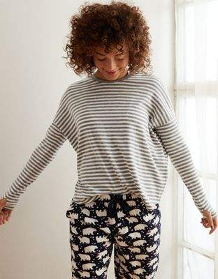 aerie Striped Legging Tee