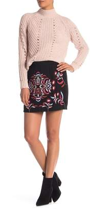 Vero Moda Lyla Embroidered Mini Skirt