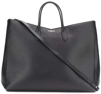 Sara Battaglia wide square tote bag