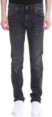 Mauro Grifoni Black Denim Jeans