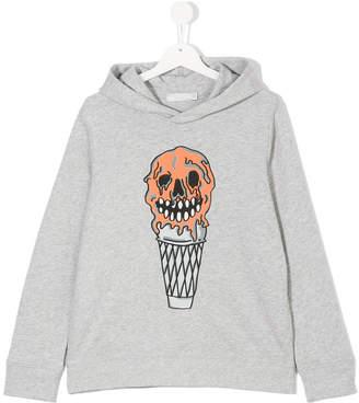 Stella McCartney ice-cream skull hoodie