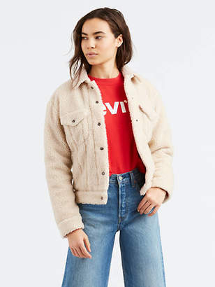 Levi's All Over Sherpa Trucker Jacket