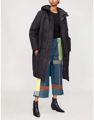 Craig Green Hooded crinkled shell-down parka jacket