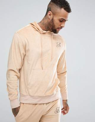 Ascend Muscle Fit Velour Hoodie