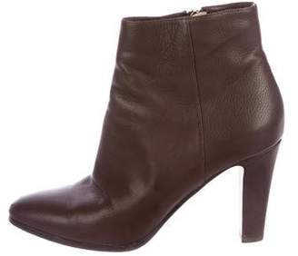 Jimmy Choo Mass Leather Ankle Boots