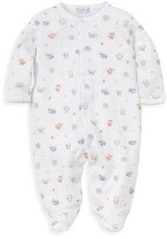 Kissy Kissy Baby's Cotton Footed Romper