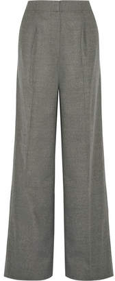 Elizabeth and James Etta Stretch-wool Wide-leg Pants - Gray