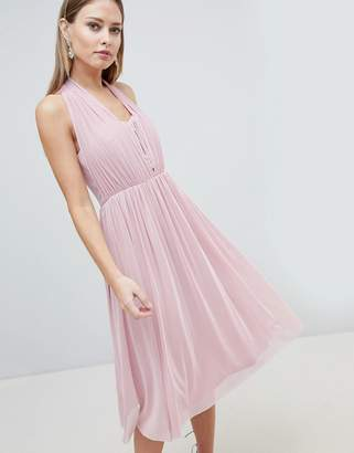 Lipsy Multiway Midi Chiffon Dress
