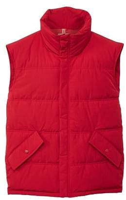 MANGO Cotton quilted gilet