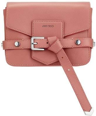 Jimmy Choo LEXIE/S Rosewood Soft Grained Calf Leather Cross Body Bag