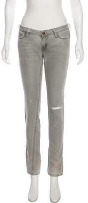 AllSaints Low-Rise Skinny Jeans