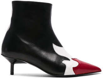 Marques Almeida Marques ' Almeida Pointy Kitten Heel Flame Boot