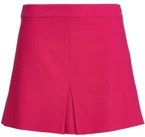 Moschino Pleated Twill Mini Skirt