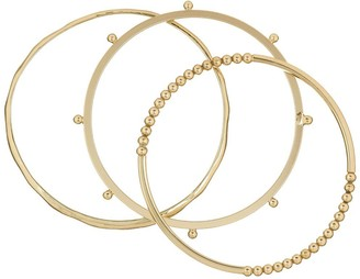 French Connenction Dotted Bangle Set