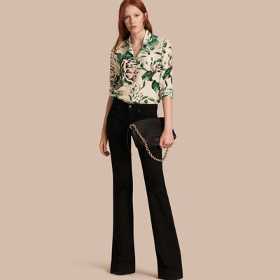 Burberry Burberry Flared Stretch Jeans