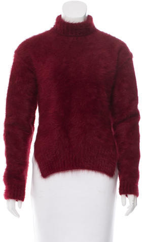 Celine Céline Angora Turtleneck Sweater