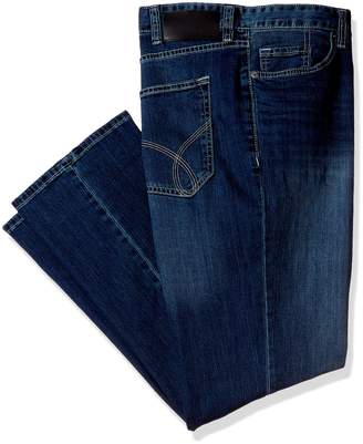 Calvin Klein Jeans Men's Big and Tall Relaxed Straight Fit Jean