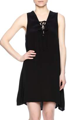 Elan International Tie Front Dress