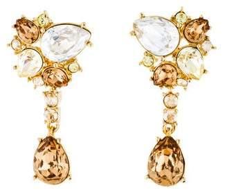 Judith Leiber Crystal Drop Earrings