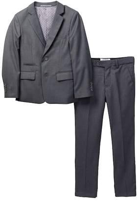 Isaac Mizrahi Slim Fit Micro Gingham 2-Piece Suit (Toddler, Little Boys, & Big Boys)